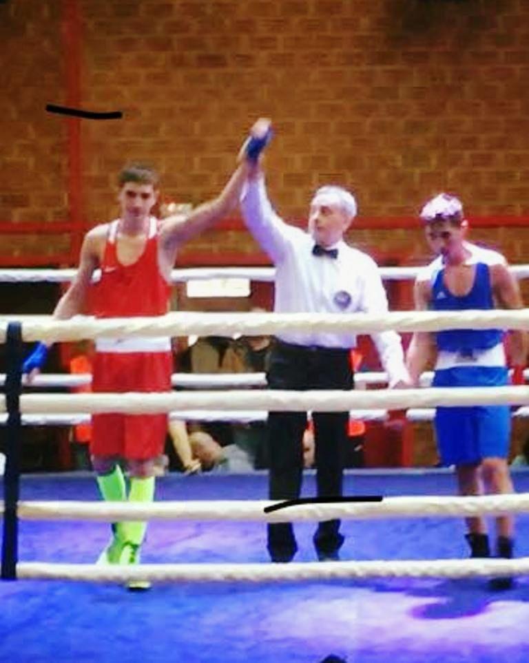 Nik Nikolov Veber zmagal na mednarodnem prvenstvu v boksu