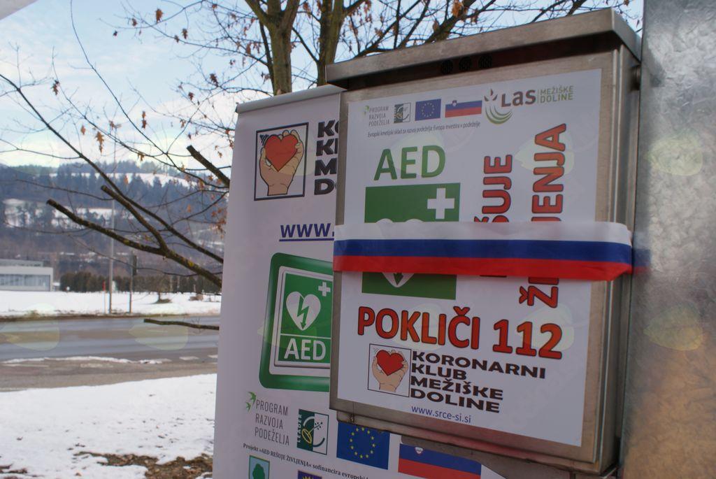 Projekt AED REŠUJE ŽIVLJENJA