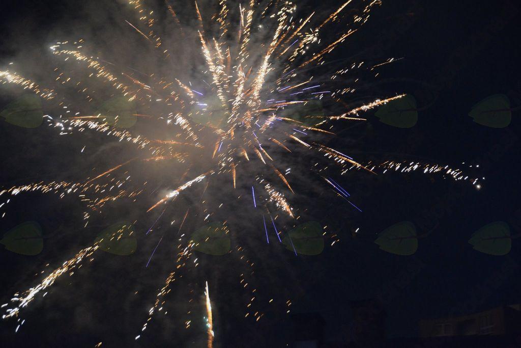 Silvestrovanje na prostem z ognjemetom