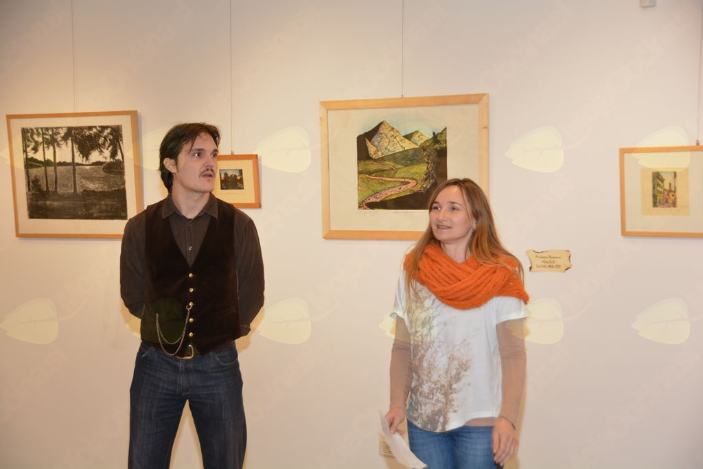 Linorez/Lesorez – razstava grafik akademskega umetnika Mihe Eriča
