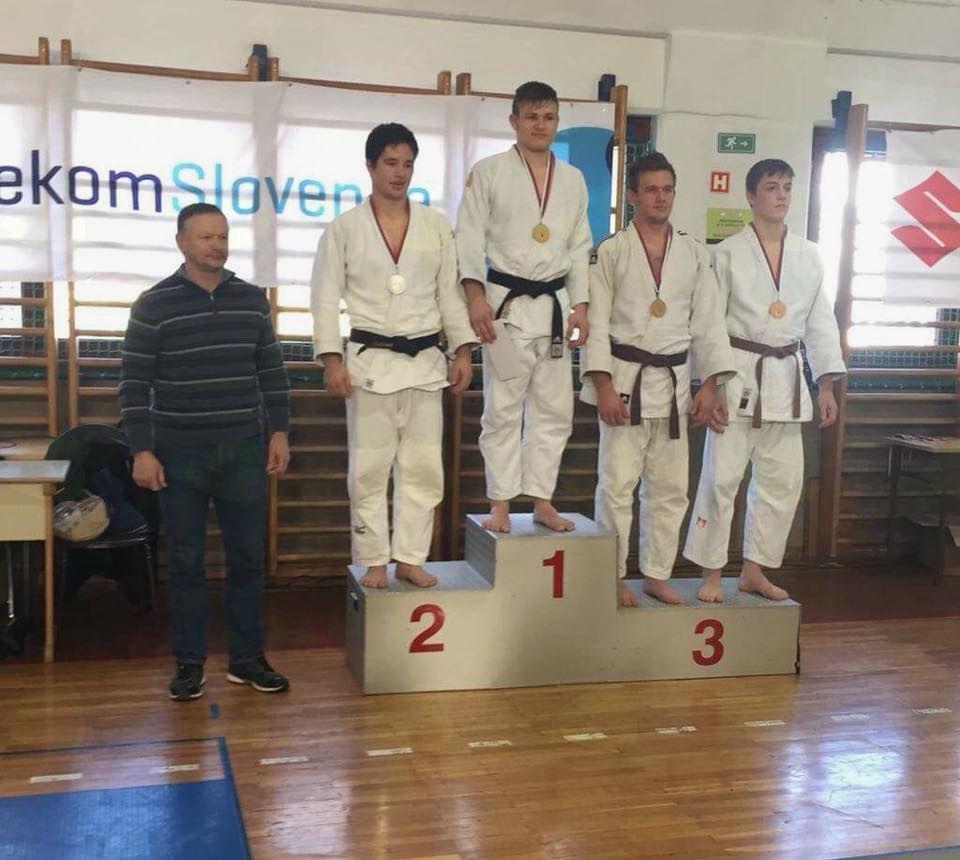 Tekmovanje za člane in kadete v judo