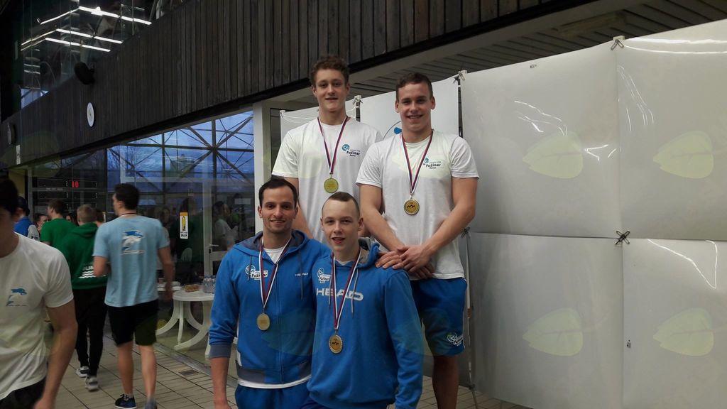 Tretji dan združenega prvenstva Slovenije v plavanju, trije državni rekordi ravenskih plavalcev