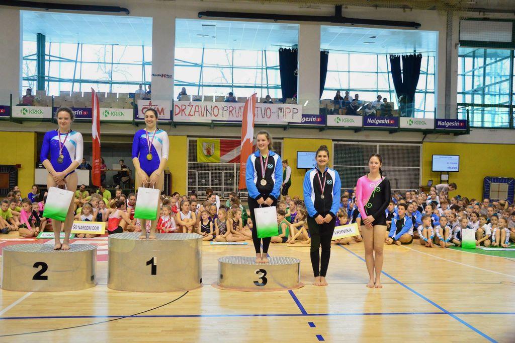 Gimnastičarke ŠD Partizan Ravne ta vikend na državnem prvenstvu v Novem mestu