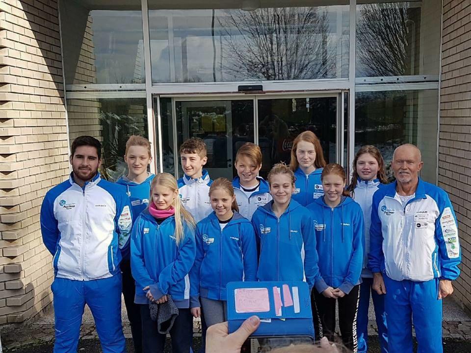 Deklice ekipne državne prvakinje na zimskem državnem prvenstvu 2018