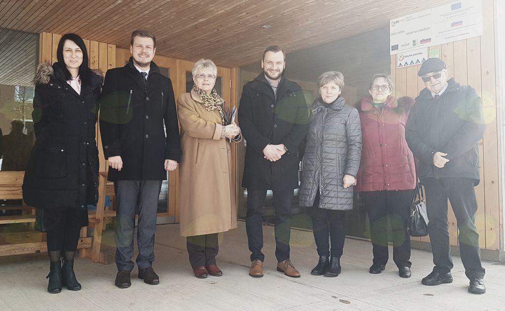 Ravne obiskala delegacija iz Jesenic