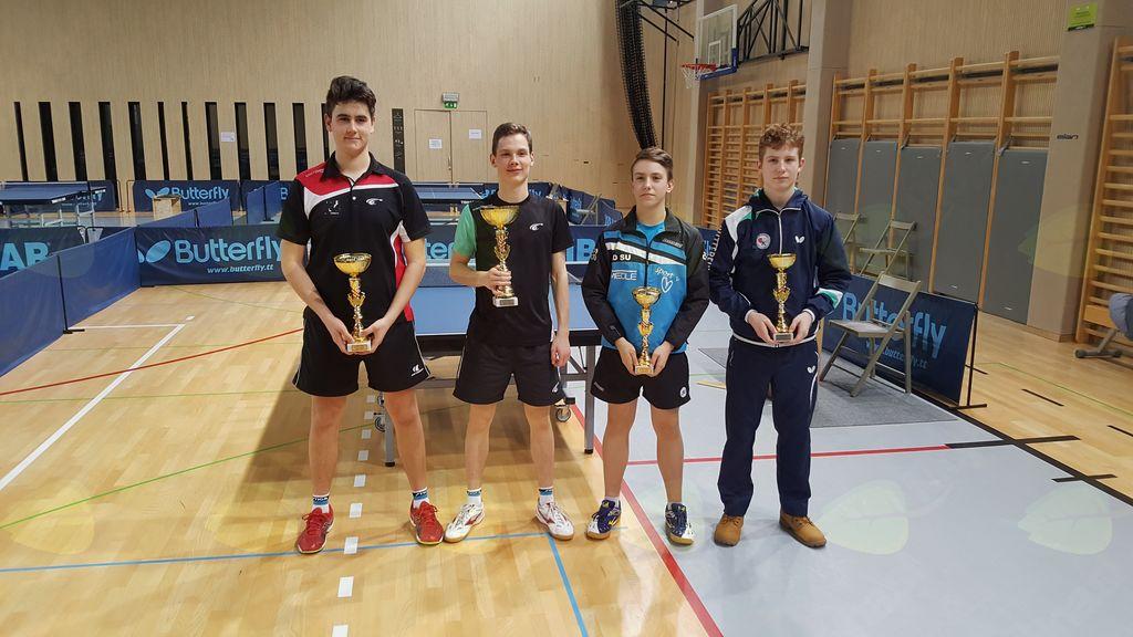 3. OT za mladince in mladinke v namiznem tenisu