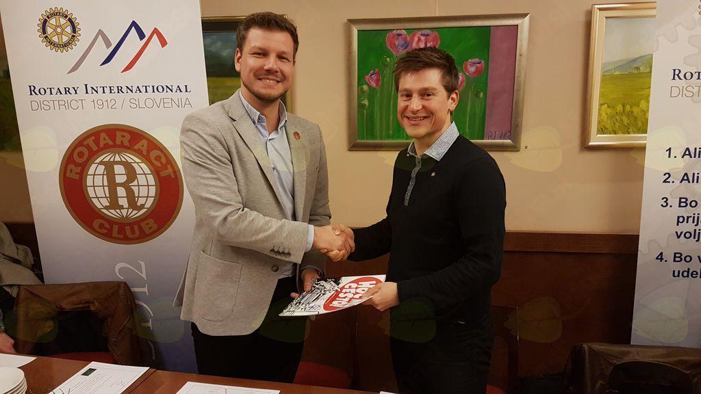 Mladi Rotarijci iz Slovenj Gradca in Velenja podprli prizadevanja Mladinske iniciative za 3. razvojno os