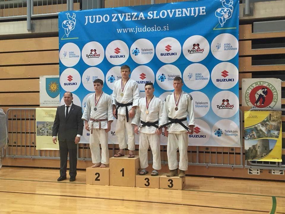 Mladinsko in pasovno prvenstvo Slovenije v judo