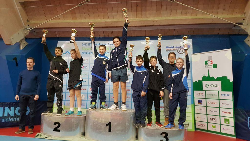 Državno prvenstvo na mlajše kadete in kadetinje v namiznem tenisu