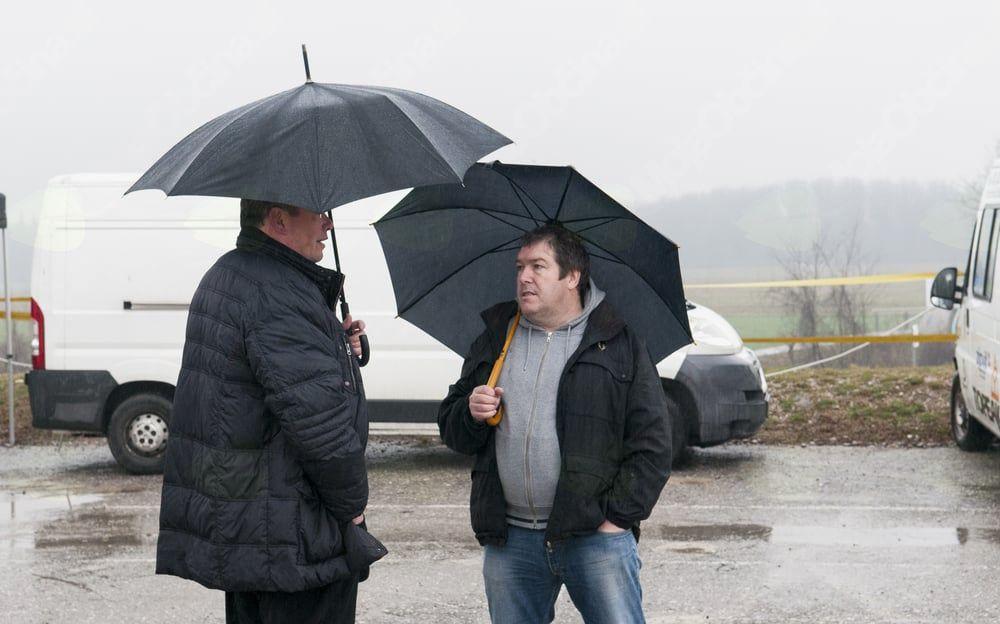 6. KRAS KROS MTB, župan Občine Miren - Kostanjevica (levo) in predsednik Krajevne skupnosti Miren - foto Tomaž Povodnik