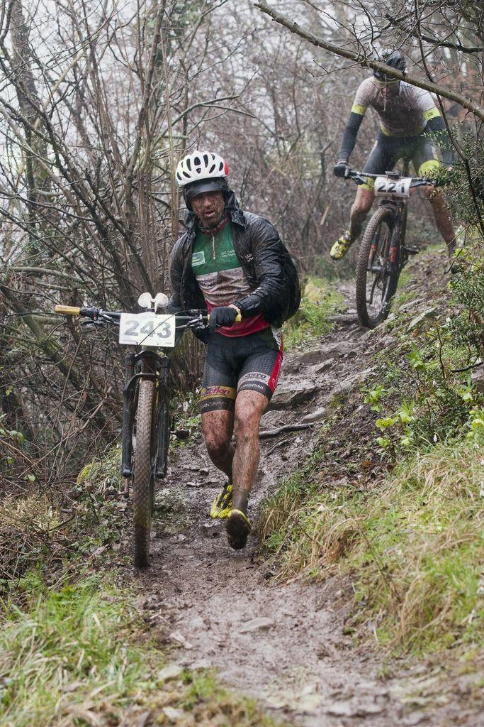 6. KRAS KROS MTB, Andrea Bravin, aktualni Italijanski veteranski državni prvak v XCM (mtb maraton) - foto Tomaž Povodnik