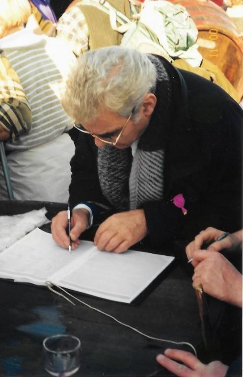 Tudi Ciril M. Pungartnik, tedanji župan Občine Trebnje je podpisal zahtevo, da država prizna cviček kot vino z geografskim poreklom.