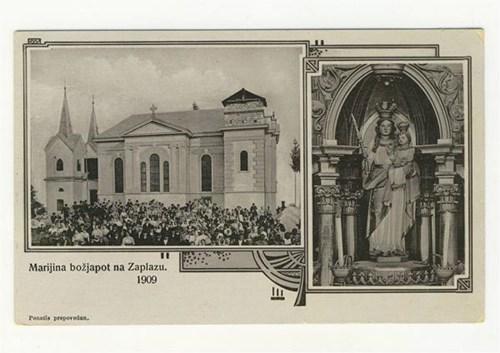 Ivan Šašelj: Zgodovina Marijine božje poti Zaplaz na Dolenjskem