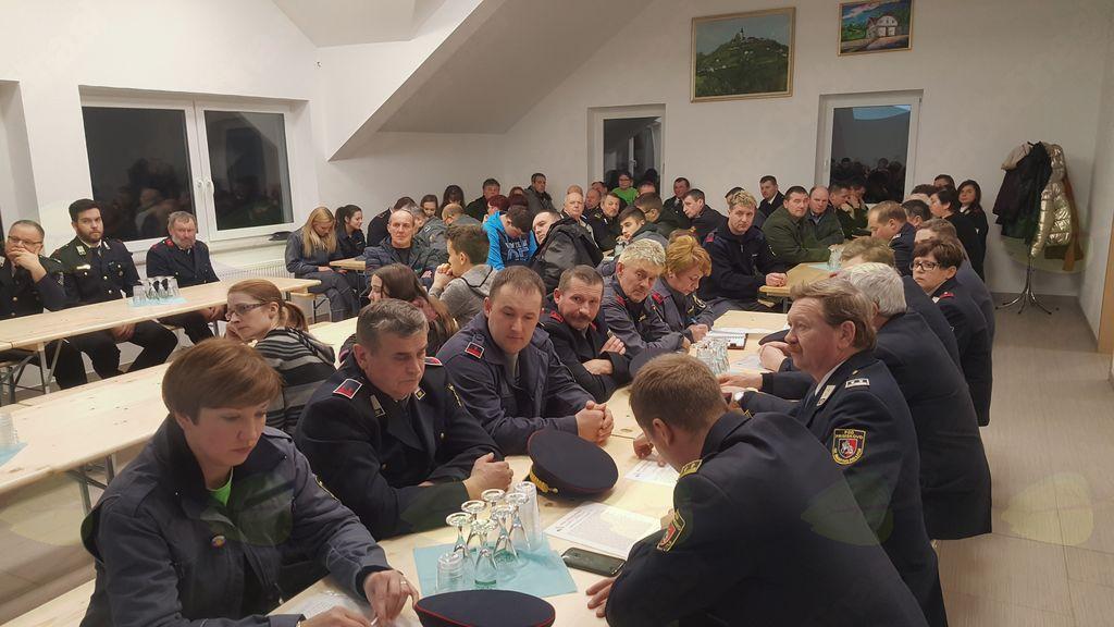 Na letnem občnem zboru PGD Primskovo izvoljeno tudi novo vodstvo