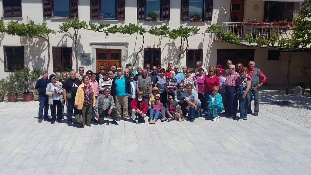 Pomladanski izlet Društva upokojencev Šentrupert