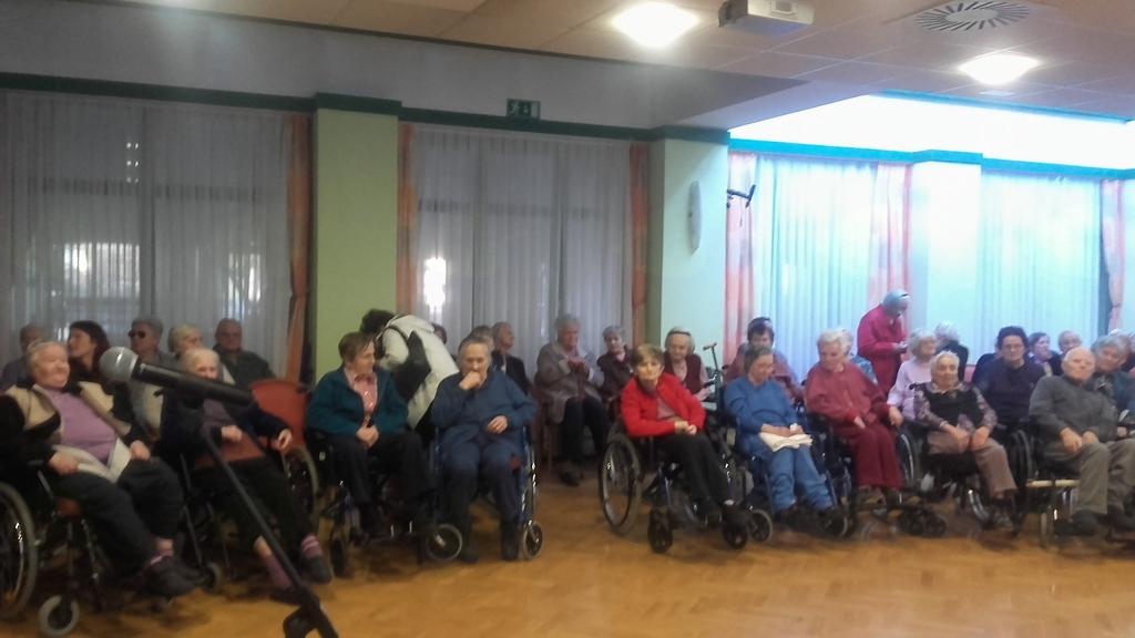 8. marec - Obisk prostovoljcev KORK Šentrupert v DSO Trebnje