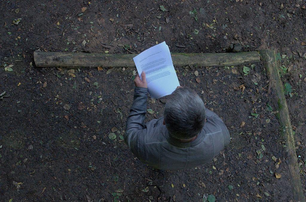 Avtorja je predstavil Gregor Maver. Foto: Primož Kožuh