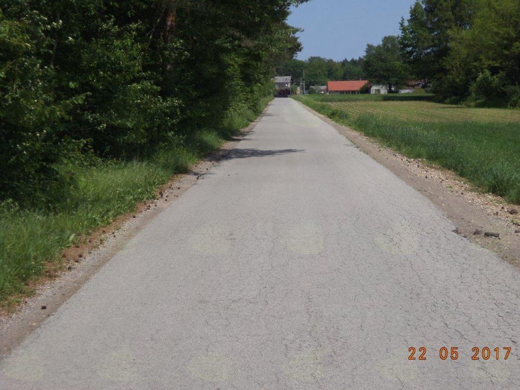 Rekonstrukcija ceste LC 165 141 Strnišče–Župečja vas