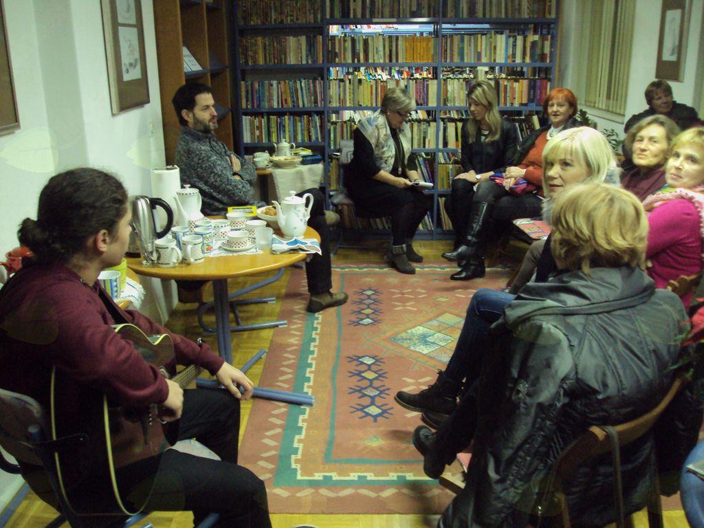 Literarni večer z dr. Davidom Bedračem