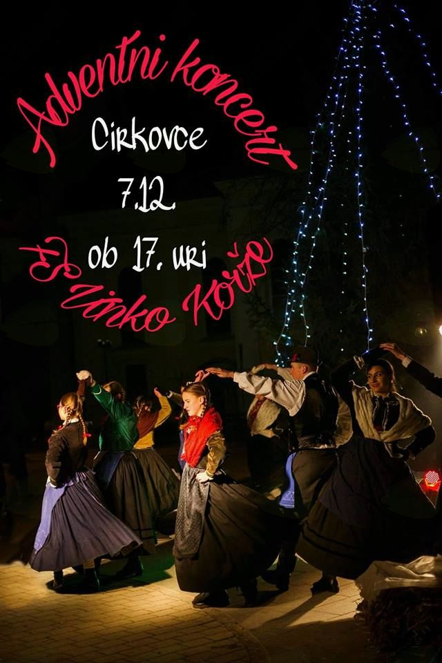 Adventni koncert FS Vinko Korže Cirkovce