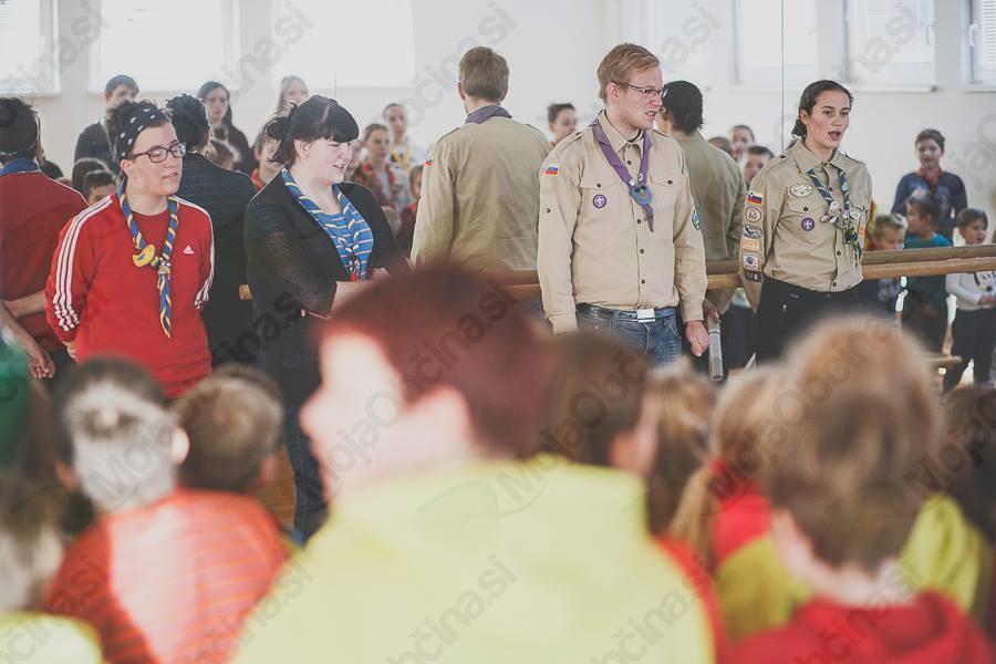 Preteklo soboto Ravne zasedli taborniki pirati