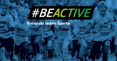 Slovenija podpira Evropski teden športa! Javnost pozivamo k telesni dejavnosti (#BeActive)