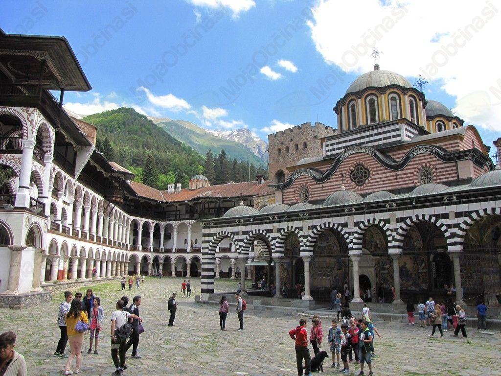 Samostan Rila - ena največjih bolgarskih znamenitosti