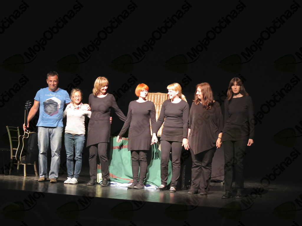 Lutkovna skupina Mokre tačke na Državnem srečanju lutkovnih skupin Slovenije