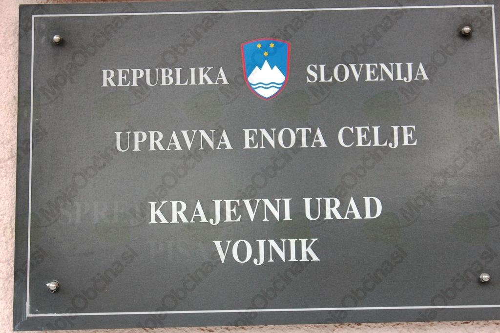 Obvestilo o spremenjenih uradnih urah Krajevnih uradov Vojnik in Dobrna v času poletnih počitnic
