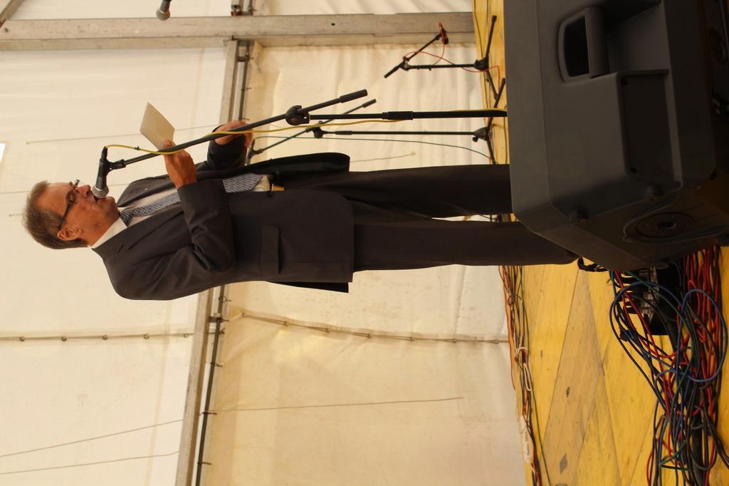 Slavnostni govornik Benedikt Kopmajer