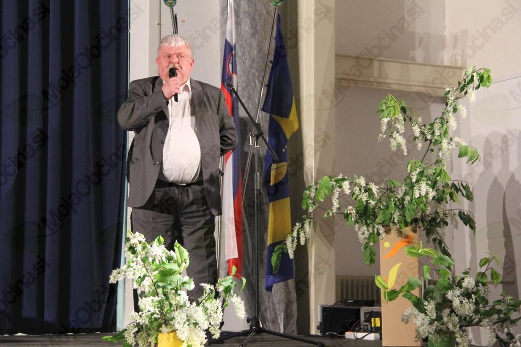 Predsednik KUD Dobrna Aleš Štepihar