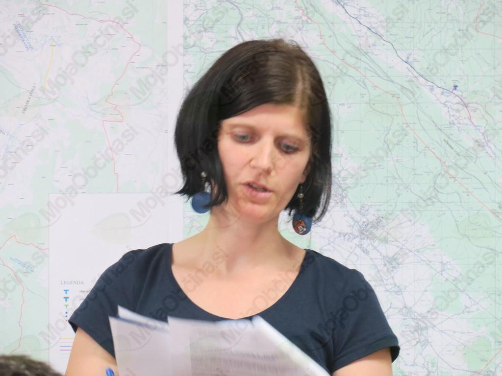 Koordinatorka Jasmina Mirtič