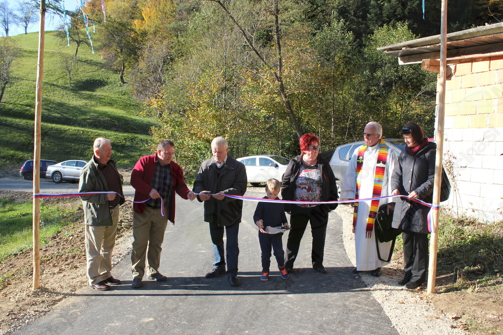 Otvoritev ceste Gabrovec – Sitar (Foto: Dušan Sitar)