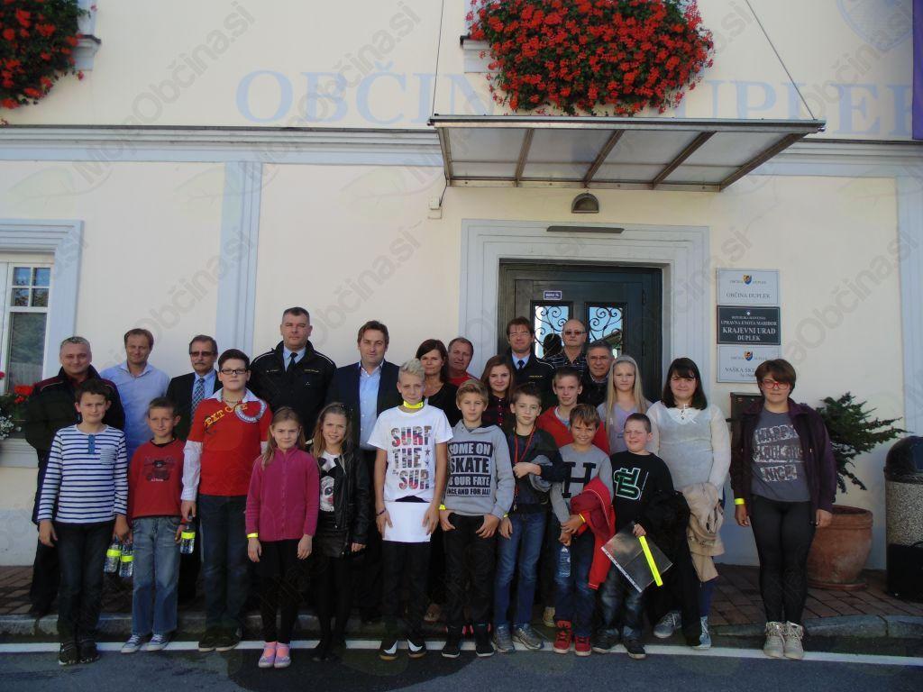 Župana so ob Tednu otroka obiskali učenci osnovnih šol