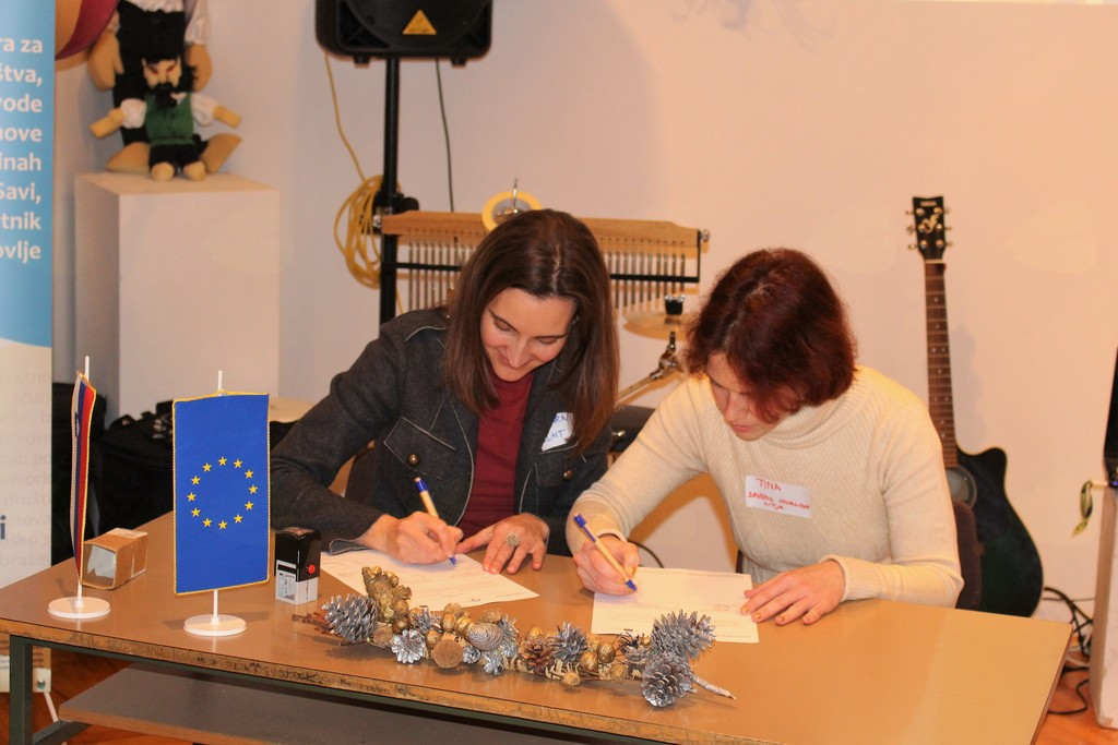 Podpis sporazuma o sodelovanju v programu NVO s potencialom