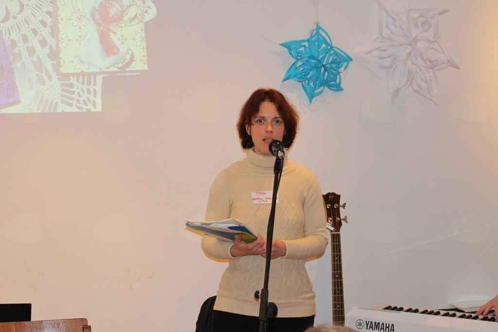Tina Cirar, predstavnica Medobčinskega društva invalidov občin Litija in Šmartno pri Litiji, socialno podjetje