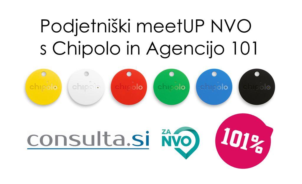 Podjetje Chipolo vabi nevladne organizacije k sodelovanju v skupnem projektu