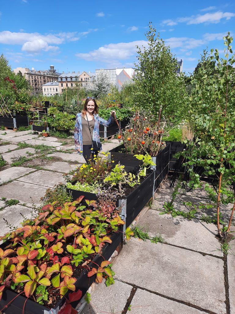 Skupnostni vrt v Rigi