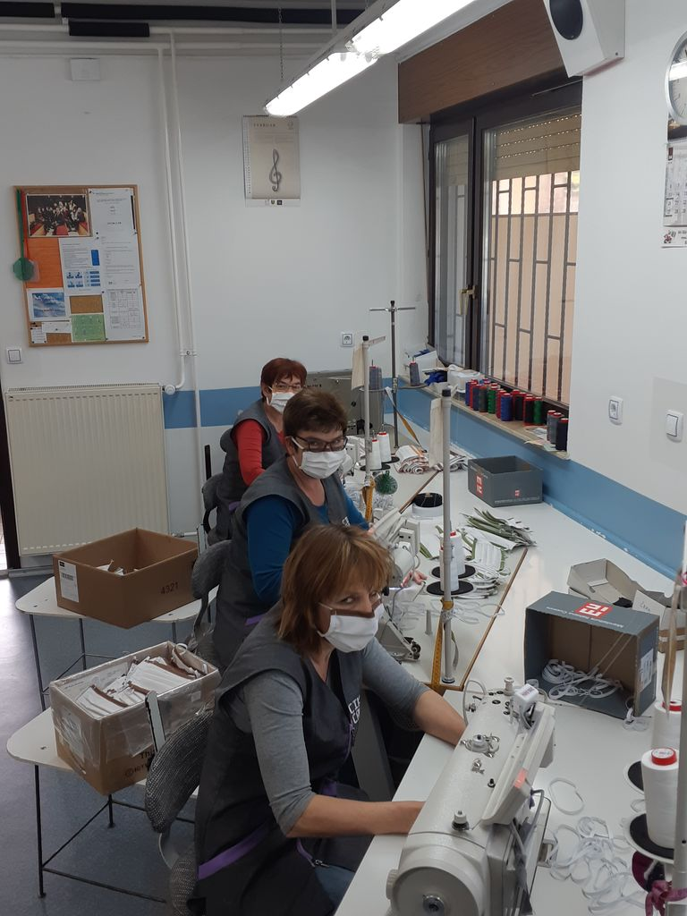 Donacija pralno zaščitnih mask