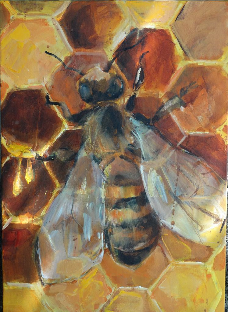 Čebelarjenje s čopičem