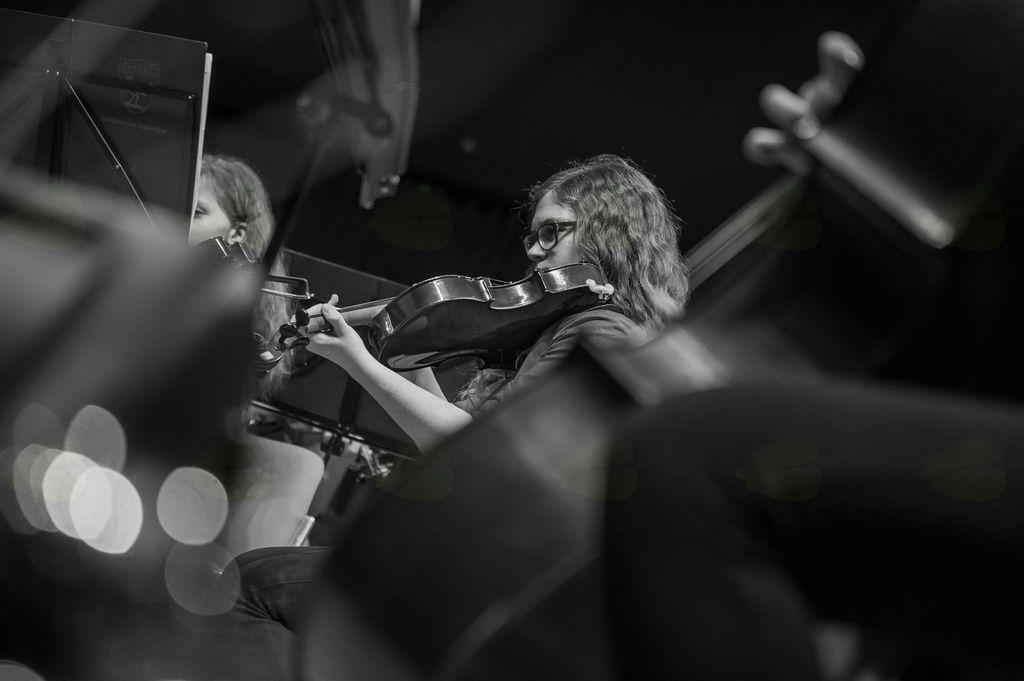 Koncert orkestrov Glasbene šole Radovljica