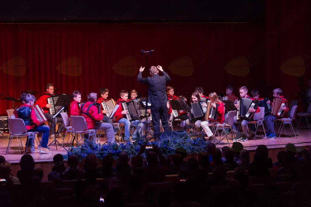 Božično-novoletni koncert Glasbene šole Radovljica