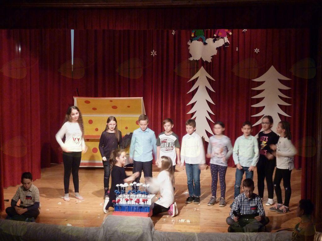 Kulturni program učencev PŠ Dobrnič