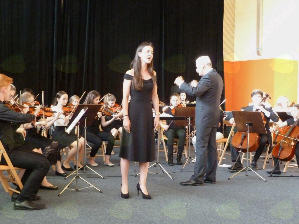 Koncert Glasbene šole Trebnje v Dobrniču