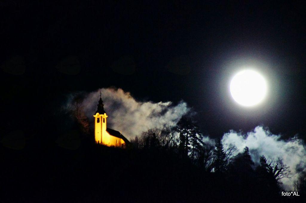 Nočni pohod v Gradišče pri Litiji