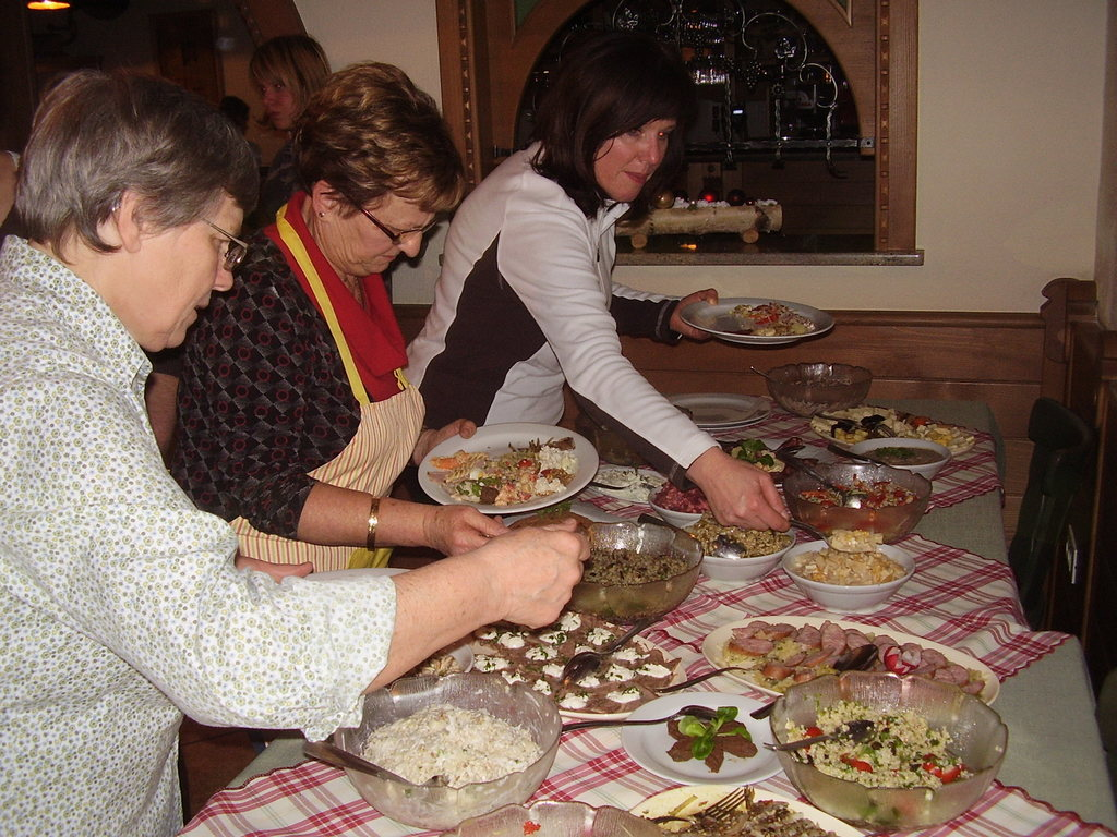 Kuharska delavnica- priprava različnih vrst solat