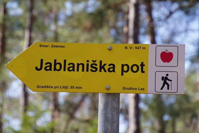 15. jubilejni pohod po Jablaniški poti 7.4. 2018