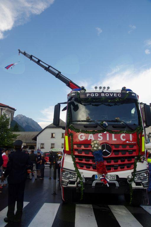Novo vozilo PGD Bovec