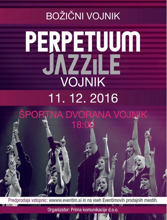 Vabilo na koncert Perpetuum Jazzile