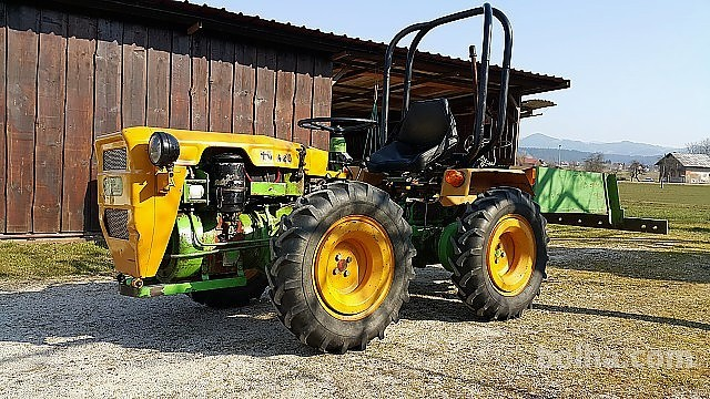 Poskrbite za brezhibno delovanje svojih traktorjev.